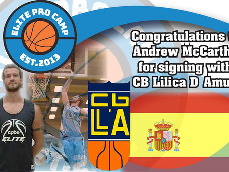 McCarthy Continues Professional Career in Spain