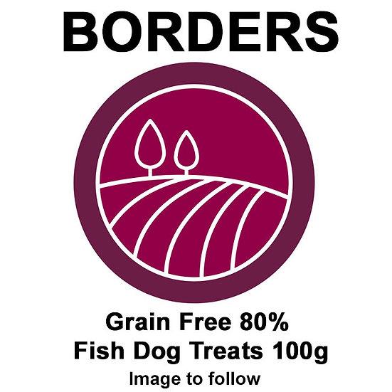 Borders Grain Free 80% Fish Dog Treats