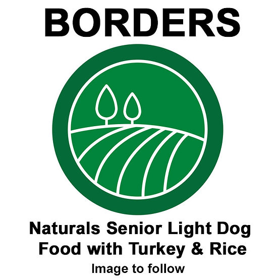 Borders Naturals Senior Light Dog Food with Turkey & Rice
