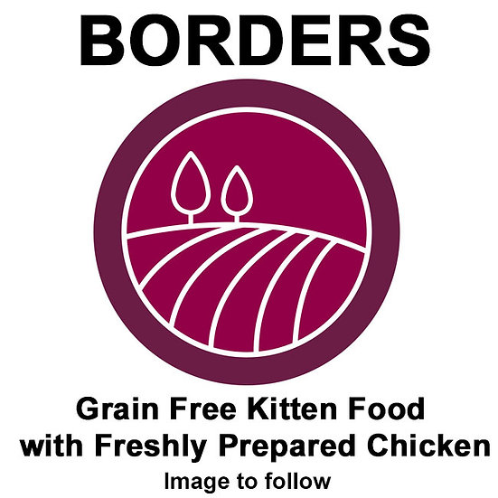 Grain Free Kitten Food with Freshly Prepared Chicken 2kg