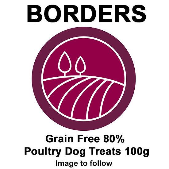 Borders Grain Free 80% Poultry Dog Treats