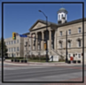 Photo of the Welland Court House | Paradisus Window Cleaning