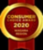 2020 Consumer Choice Award For Niagara Region