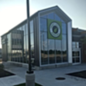 Large Clean Glass Building Pen Financial St. Catharines