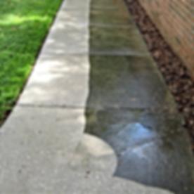 Half Clean Walkway Vs Half Dirty Walkway