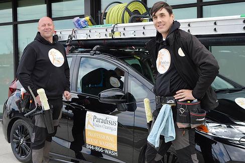 jonathan and jason of paradisus window cleaning