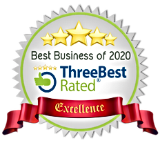 ThreeBest Rated Award - Best Business of 2020