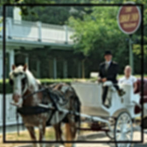 Photo of a carriage outside The Oban Inn, Niagara-on-the-Lake   Paradisus Window Cleaning