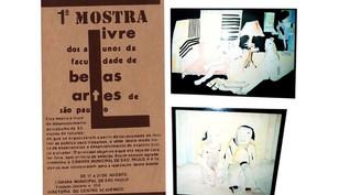 1980 - MOSTRA LIVRE DOS ALUNOS DA FACULDADE DE BELAS ARTES
