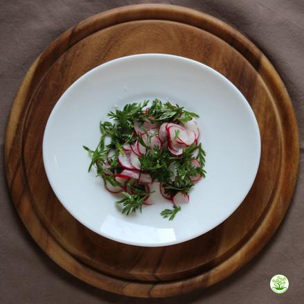 INSALATINI VELOCI: un metodo efficacie, sano e veloce per yanghizzare le verdure crude