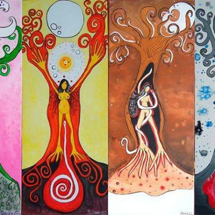 """IL POTERE DELLA """"GRANDE DEA"""" - La Donna e la sua natura ciclica."""