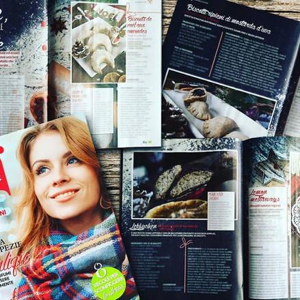 IL GUSTO E LA SALUTE IN EDICOLA nella rivista Bio Magazine.