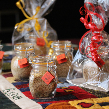 GOMASIO FATTO IN CASA - la magia di un dono speciale.