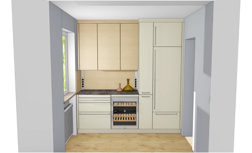 Rempp Küche - 2 Zeilen