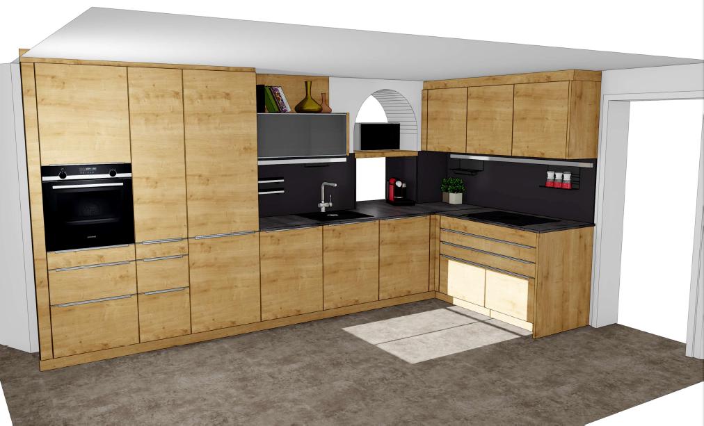 Rempp Küche, L-Form