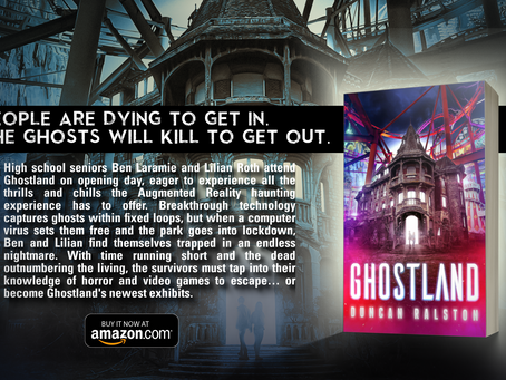 Ghostland - A Brand-New Horror Experience/Novel