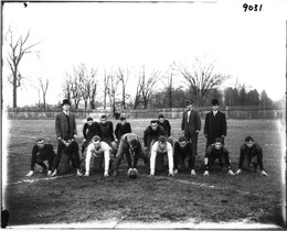Fontaine County football league, late-1800s