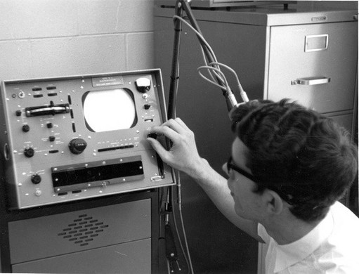Orderly Using ECT, 1960s