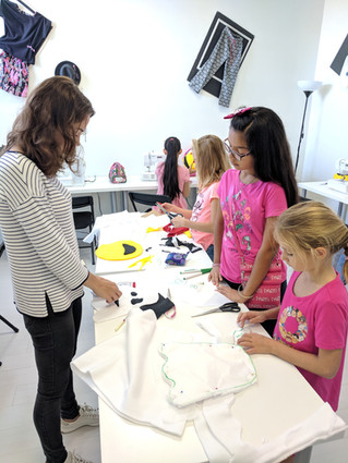 More Than Just Sewing Classes: Fashion Design Summer Camp!