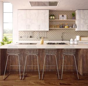 Tidy Kitchen - Organized Space