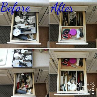 Organization Sliding Custom Tray & Drawer Dividers