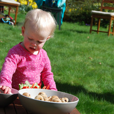 Gardening with families