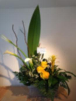 fleurs funérailles