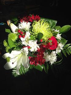 bouquet avec lys
