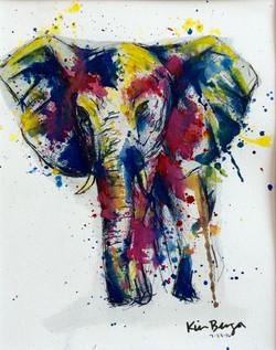 Paintball Elephant