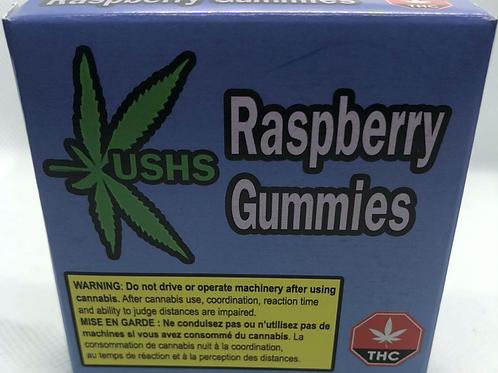 Kush's Raspberry Gummies - 200mg