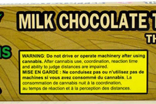 Kush's Chocolate - 200mg - Milk Chocolate Toffee