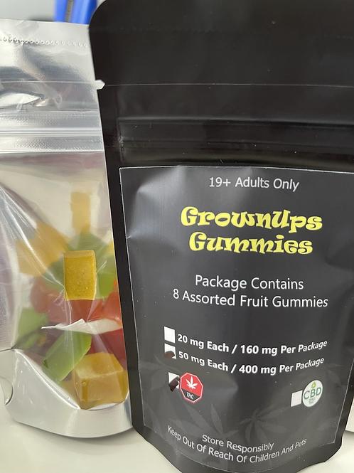 Grownups Gummies - THC - 400mg