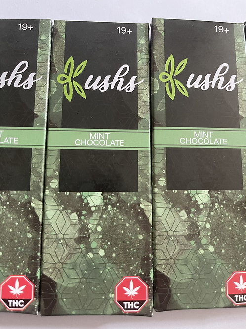 Kush's Chocolate - 200mg - Mint