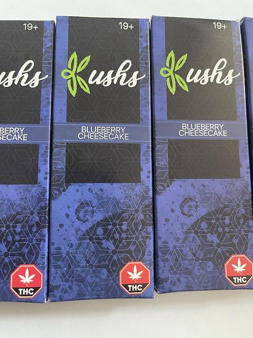 Kush's Chocolate - 200mg - Blueberry Cheesecake