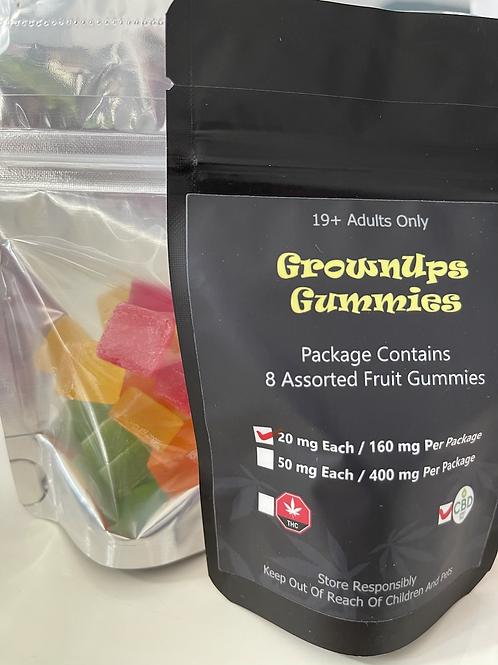 Grownups Gummies CBD - 160mg