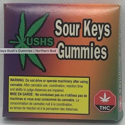 Kush's Sour Keys Gummies - 200mg