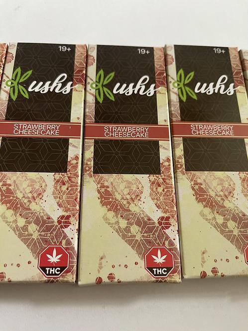 Kush's Chocolate - 200mg - Strawberry Cheesecake