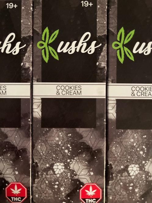Kush's Chocolate - 200mg - Cookies and Cream