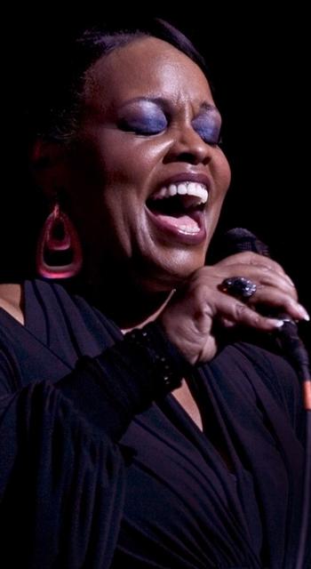 happy adult singing