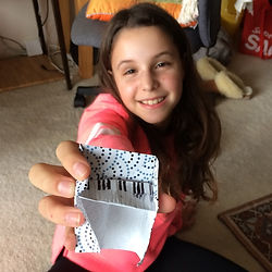 Making origami piano