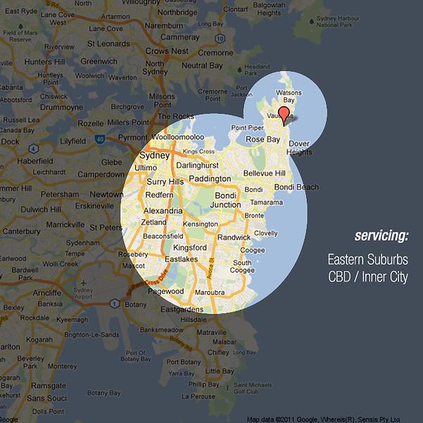 Map_Vaucluse_eastern suburbs_CBD_inner city