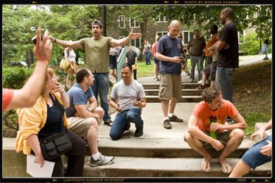 Labyrinth annual retreat