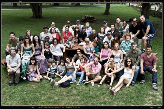 Labyrinth Theater Company Summer Retreat