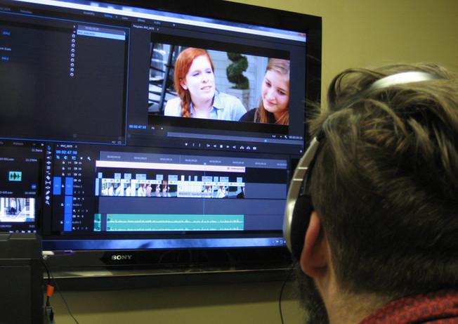 Summer film class at Flat Rock