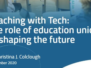 New Report: Teaching With Tech