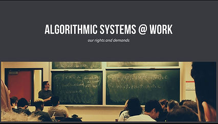 algorithms at work