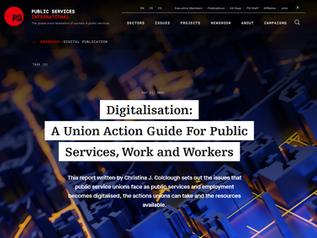 Digitalisation: A Union Action Guide