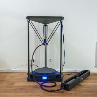 Terra Nueva Printer and extruder