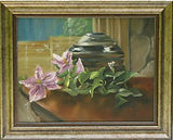 still life with clematis