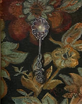 floral spoon